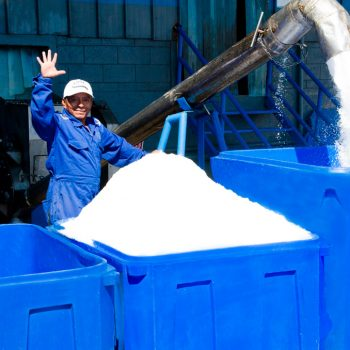 venta de hielo para la pesca
